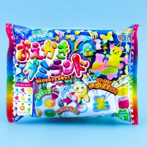Kracie Popin' Cookin' Oekaki Gummy Land DIY Candy Kit