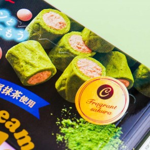 Glico Collon Biscuit Roll - Sakura & Matcha