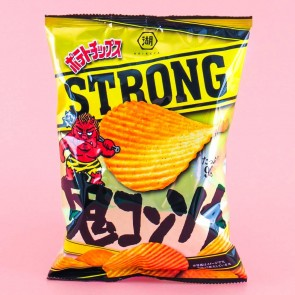 Koikeya Strong Potato Chips - Demonic Consomme