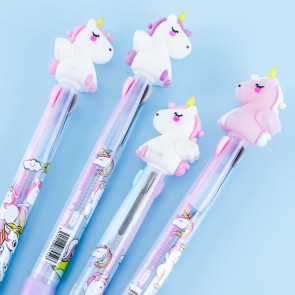 Dreamy Pudgy Unicorn Multi-Color Pen