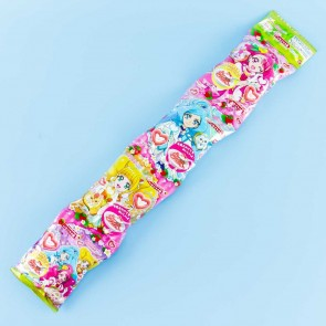 Pretty Cure Strawberry Latte Corn Snacks - 4 pcs
