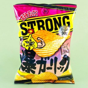 Koikeya Strong Potato Chips - Explosive Garlic