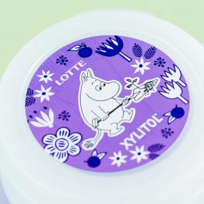 Lotte Moomin Xylitol Grape & Muscat Gum