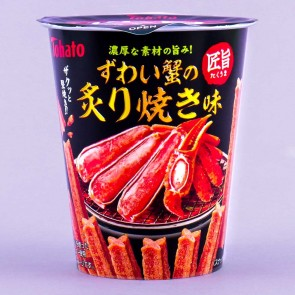 Tohato Fire Roasted Snow Crab Corn Stick Snacks