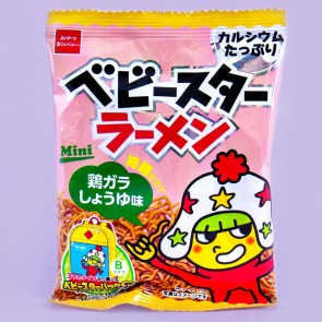 Baby Star Chicken & Soy Sauce Noodle Snacks