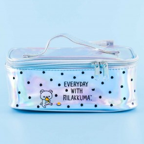Everyday With Rilakkuma Holographic Cosmetic Bag