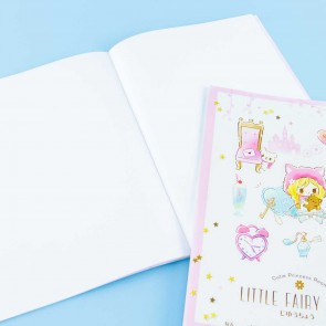 Little Fairy Tale Story Princess Sketchbook