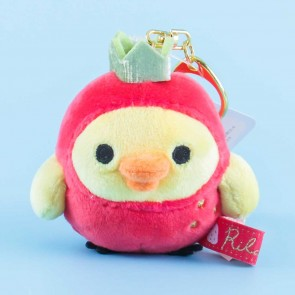 Strawberry Kiiroitori Plushie Bag Charm