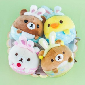 Rilakkuma Easter Bunny Plushie Bag Charm - Medium