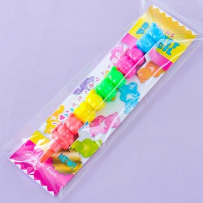 Gummy Bear Stackable Crayon Set