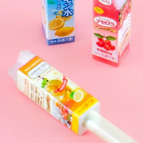 Japanese Drink Carton Pencil Caps