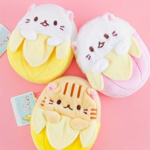 Bananya Fluffy Coin Purse