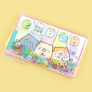 Sumikko Gurashi Blooming Flowers Sticky Notes Set