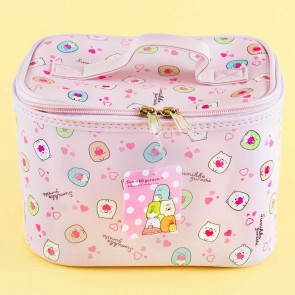 Sumikko Gurashi Pink Hearts Cosmetic Bag