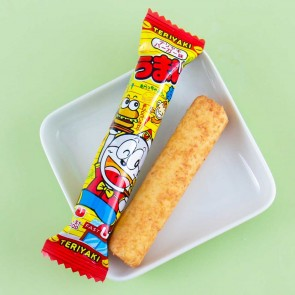 Yaokin Umaibo Teriyaki Burger Snack Stick Set - 5 pcs
