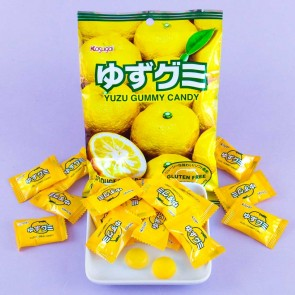 Kasugai Yuzu Gummy Candies