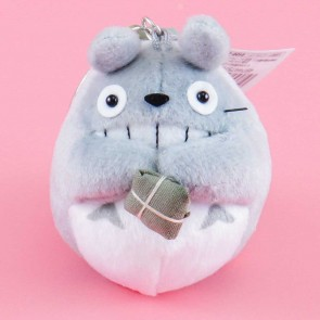 My Neighbor Totoro With Parcel Plushie Bag Charm - Totoro