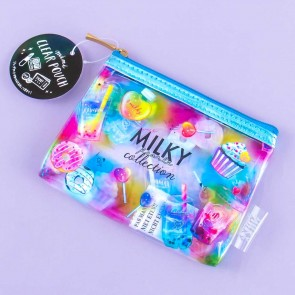 Sweet Milky Pearl Collection Clear Purse