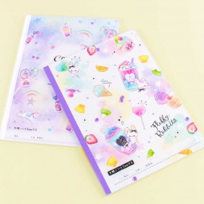 Pastel Sweets B5 Grid Notebook