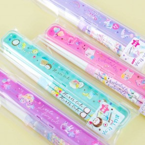 Sweet Pastel Chopsticks With Case