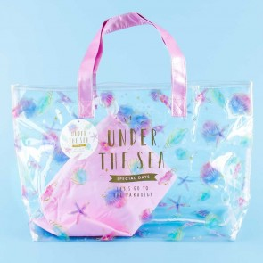 Under The Sea Transparent Tote Bag