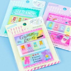 Popup Fusen Sweets Sticky Notes Set