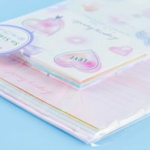Sugary Heart Letter Set