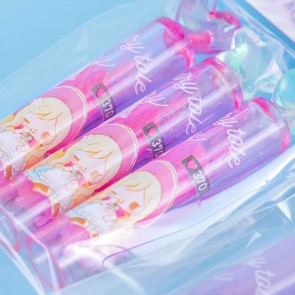 Little Fairy Tale Story Glittery Pencil Cap Set