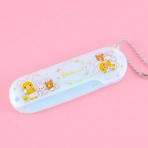 Rilakkuma With Rabbits In The Flower Forest Folding Comb