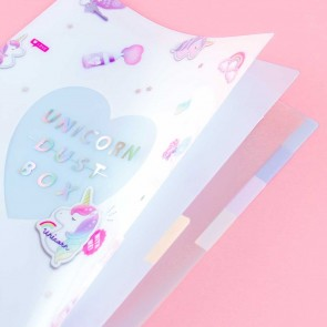 Unicorn Dust Box A4 File Folder