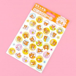 Rilakkuma Encouragement Stickers