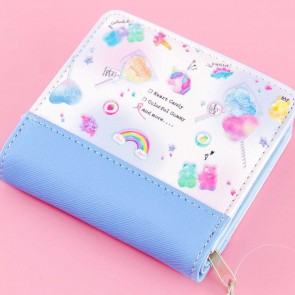 Lollipop Party Two-Fold Wallet