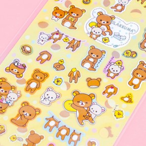 Rilakkuma Laundry Time Stickers