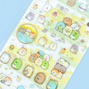 Sumikko Gurashi Flower Field Stickers