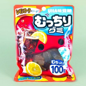 UHA Mucchiri Gummy Candy - Lemon Cola & Soda