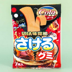 UHA Sakeru Split Gummy Candy - Cola