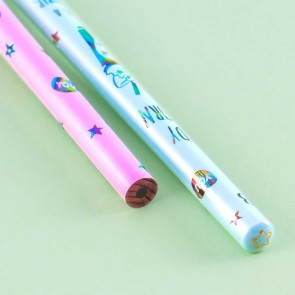 Candy Unicorn Milkshake Holographic 2B Pencil