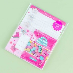 Choo My Color Marshmallow Letter Set