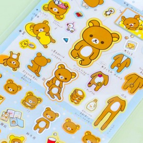Everyday With Rilakkuma Stickers