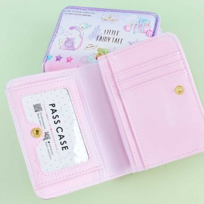 Little Fairy Tale Story Two-Fold Wallet