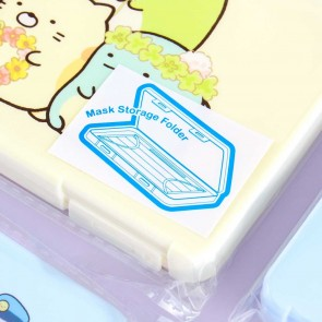 Sumikko Gurashi Face Mask Storage Folder - Rectangle