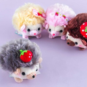 Harinezumi No Harin Strawberry Plushie - Medium