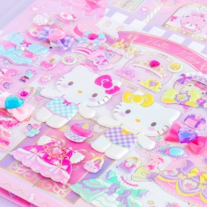 Hello Kitty Princess Dress-Up Puffy Stickers