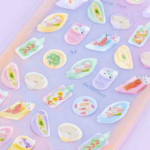 Nekoni Pastel Stickers - Home-Cooked Meals