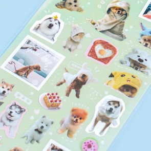Nekoni Stickers - Doggy Day-Out