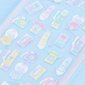 Nekoni Pastel Stickers - Back To The 80's