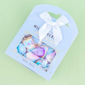 Milky Sucrerie Puffy Stickers - Jewels