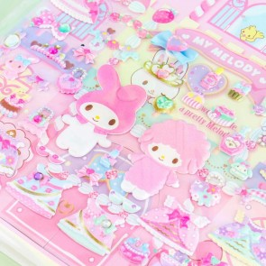 My Melody & My Sweet Piano Princess Dress-Up Puffy Stickers