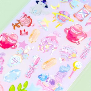 Nekoni Party Stickers - Mystical Treasures