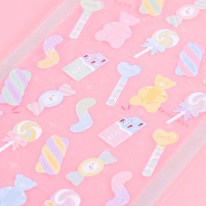 Nekoni Pastel Stickers - Candy Collection